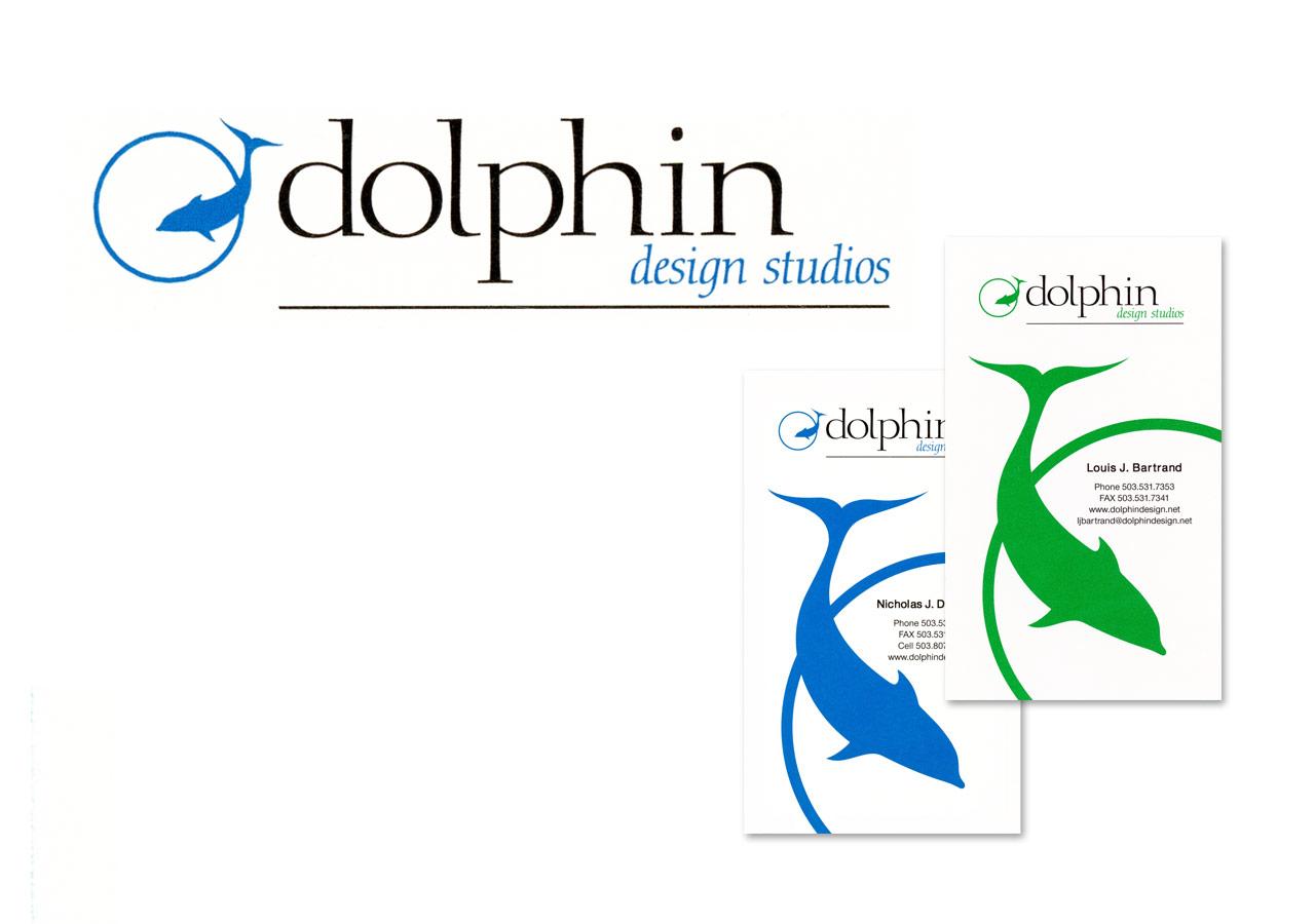 Dolphin Design Studios Logo & Business Cards