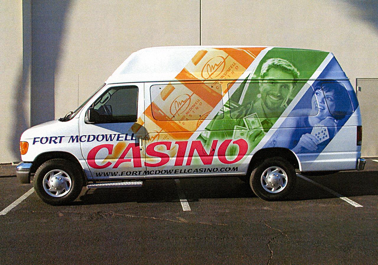 Fort McDowell Casino Van Wrap