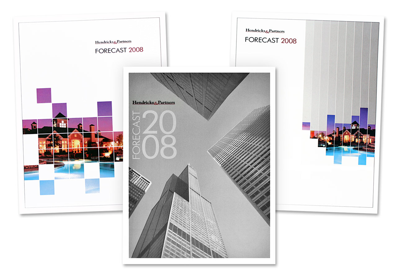 Hendricks & Partners Annual Report 2008 Cover Designs