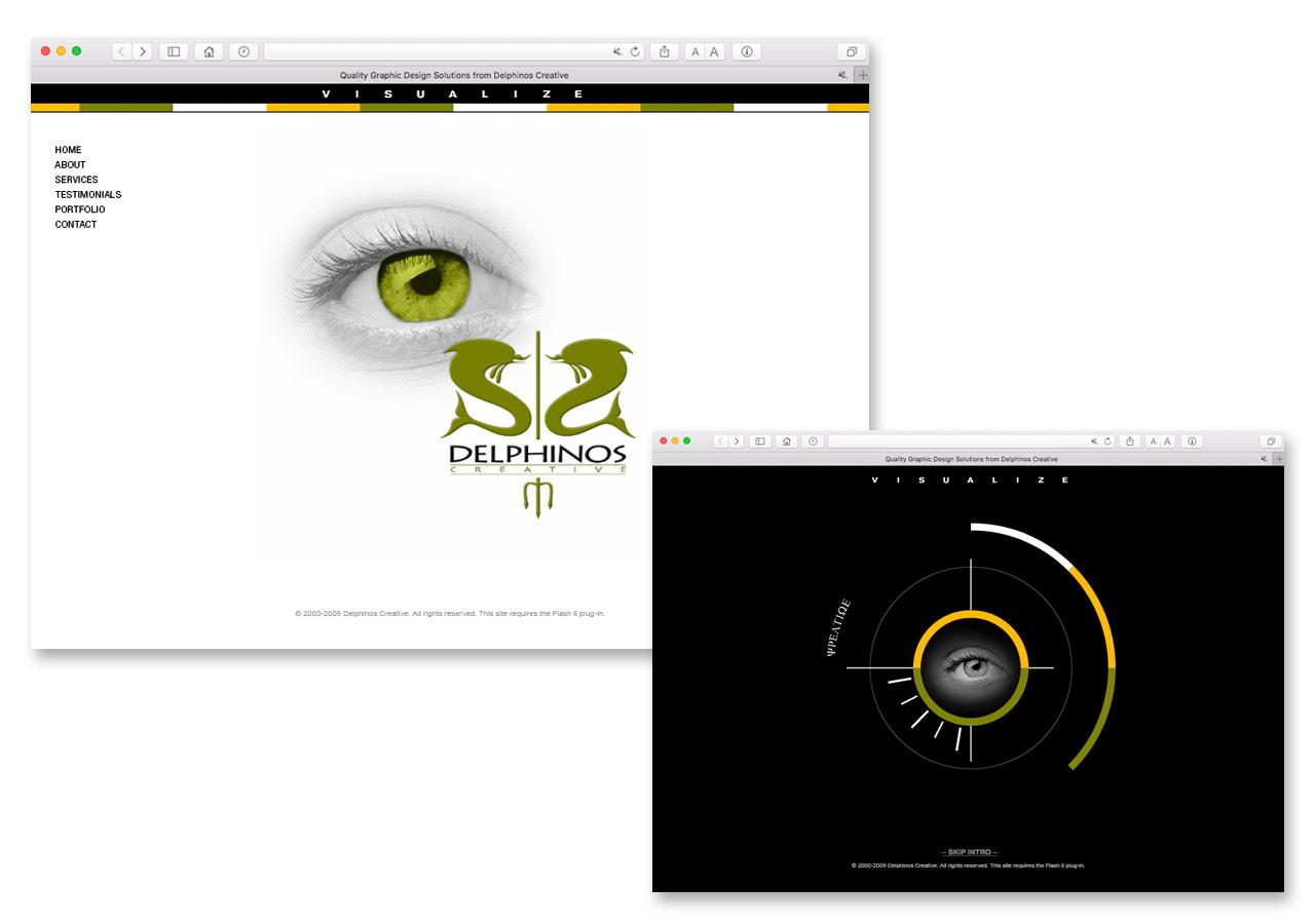 Delphinos Creative Web Site & Flash Animation