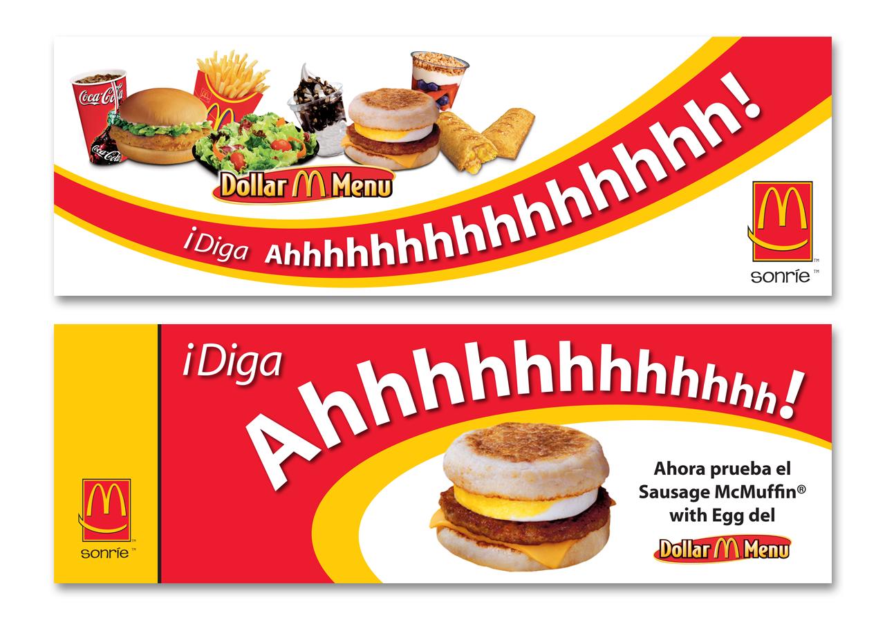 McDonald's Spanish-Language Billboards
