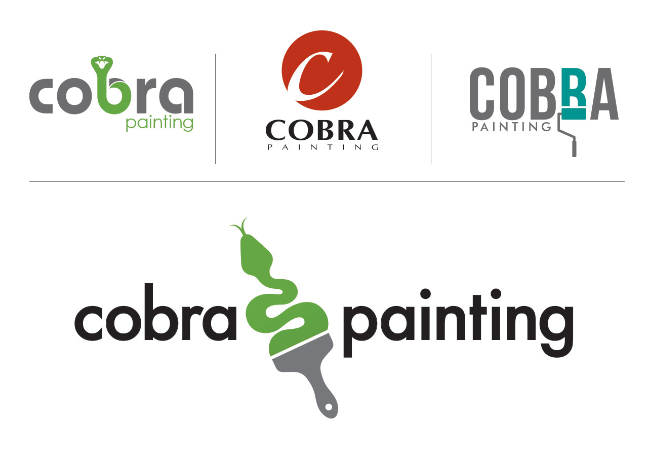 Cobra Painting Logo and Options