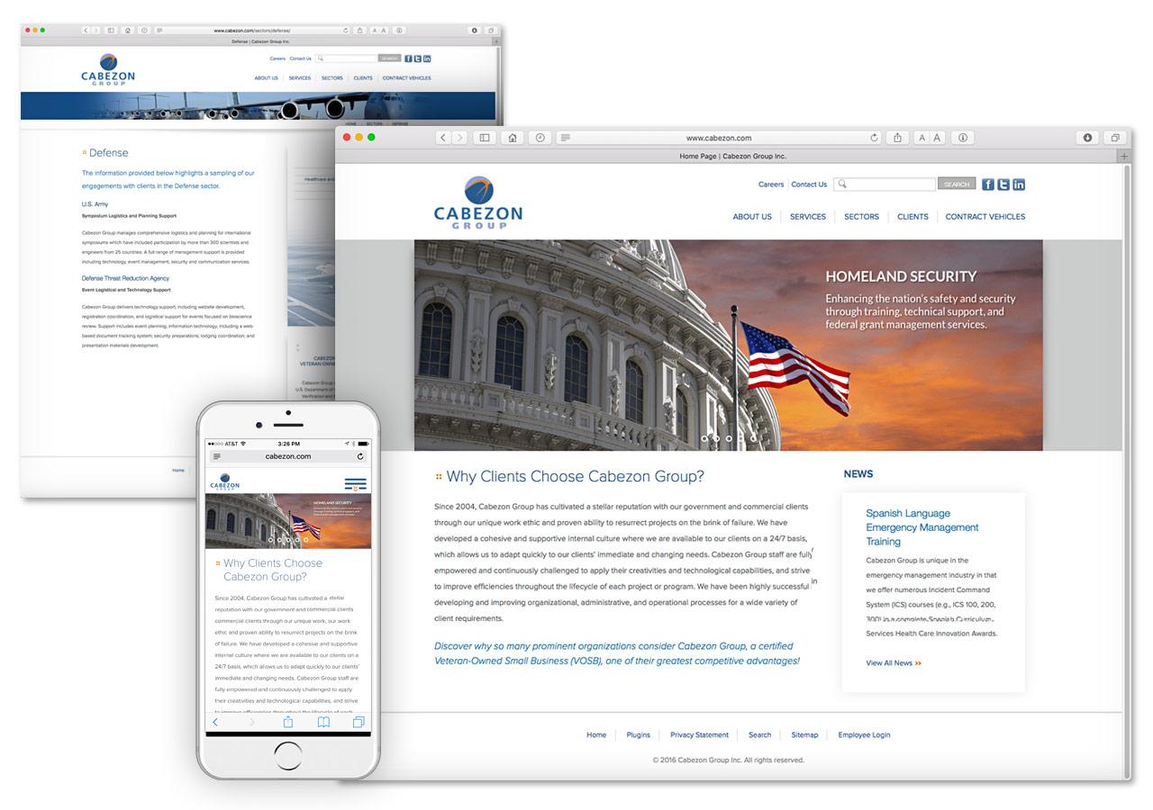 Cabezon Group Corporate Web Site