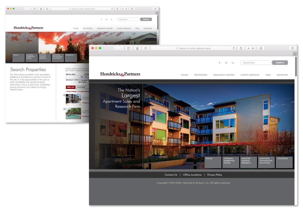 Hendricks & Partners Corporate Web Site