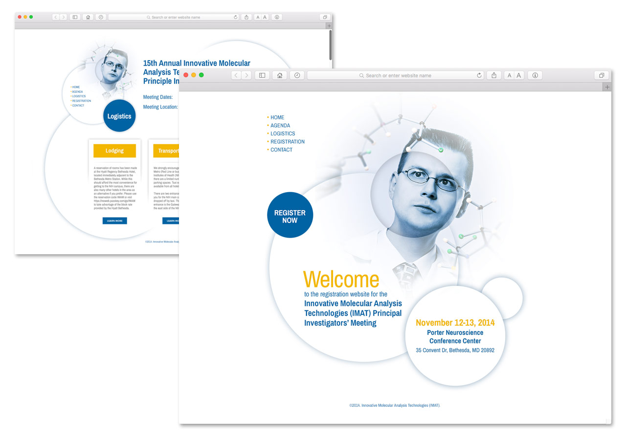 IMAT Meeting Registration Mini-Site